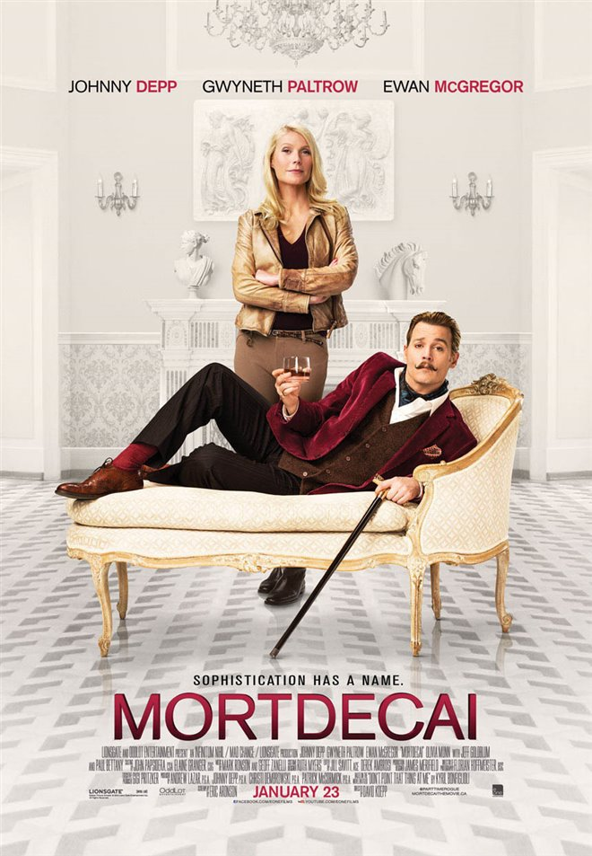 Mortdecai Large Poster