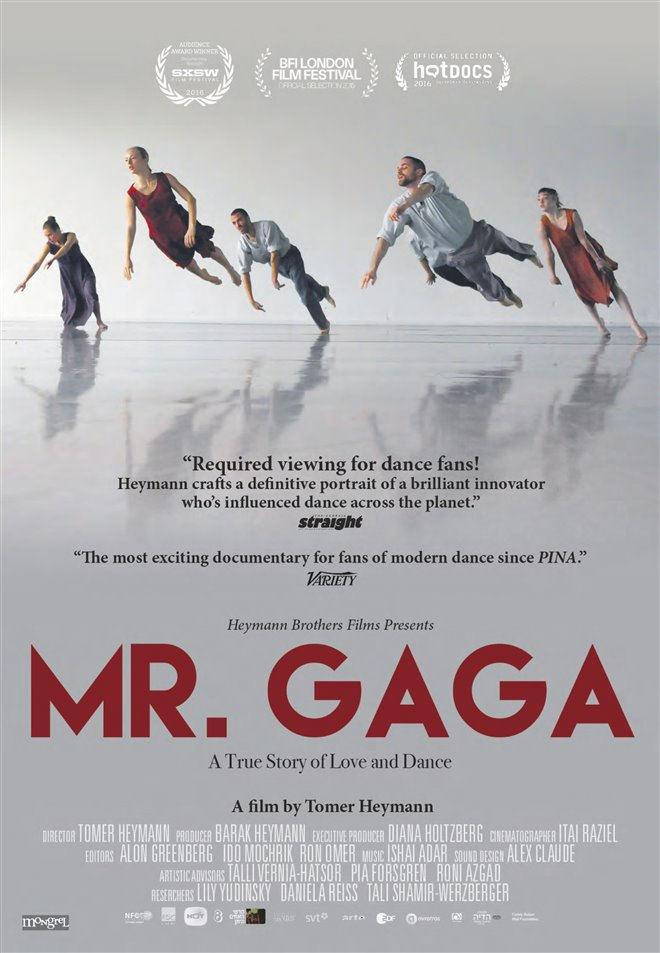 Mr. Gaga Large Poster