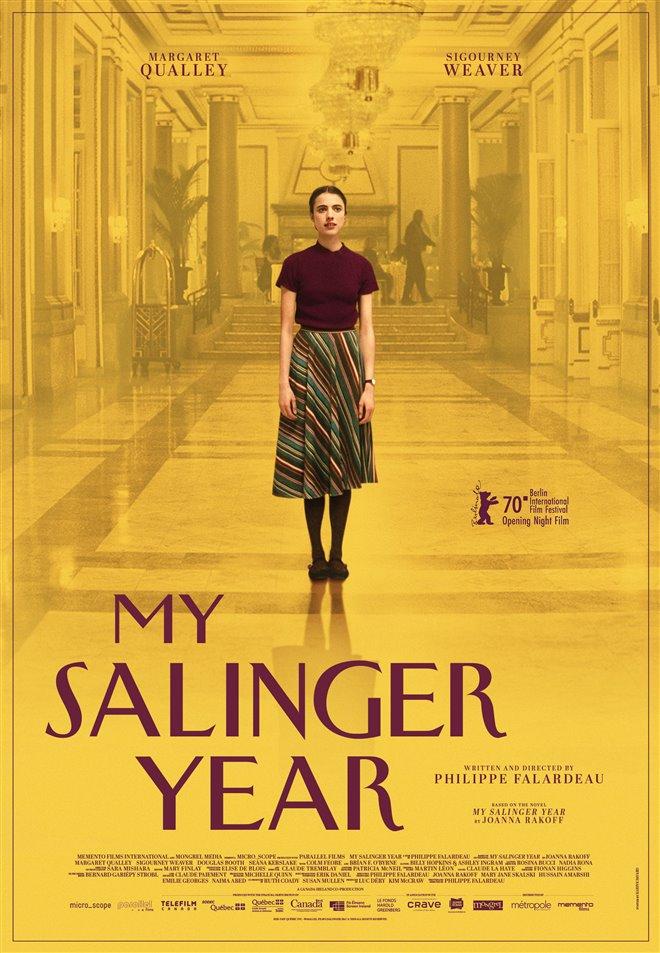 My Salinger Year Large Poster