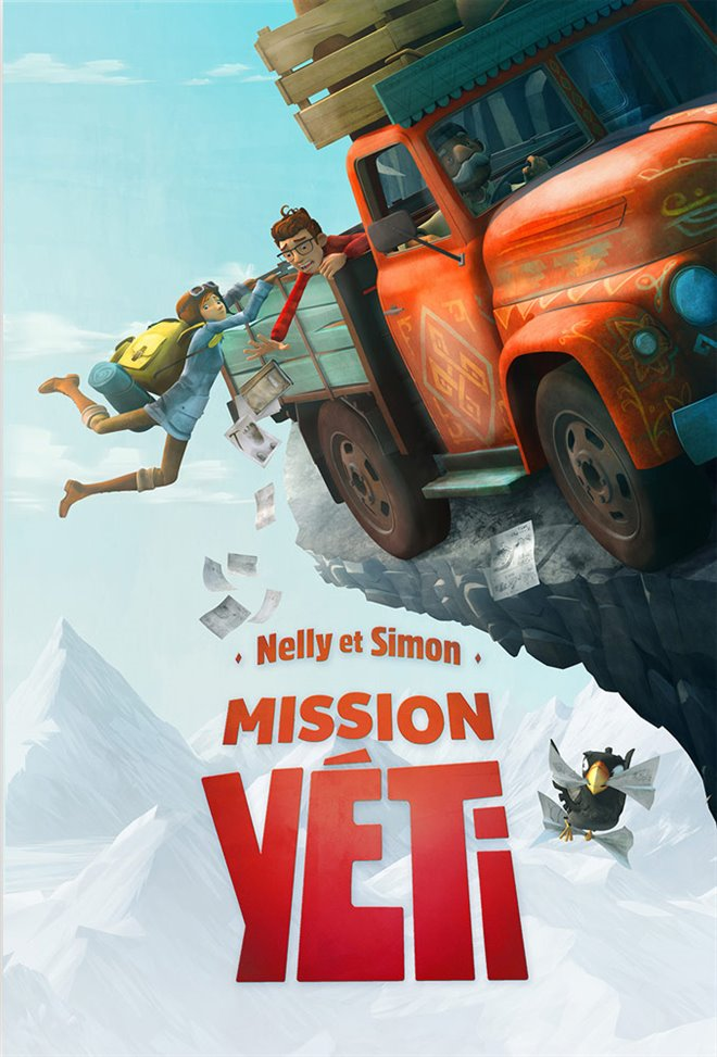 Nelly & Simon: Mission Yeti Large Poster