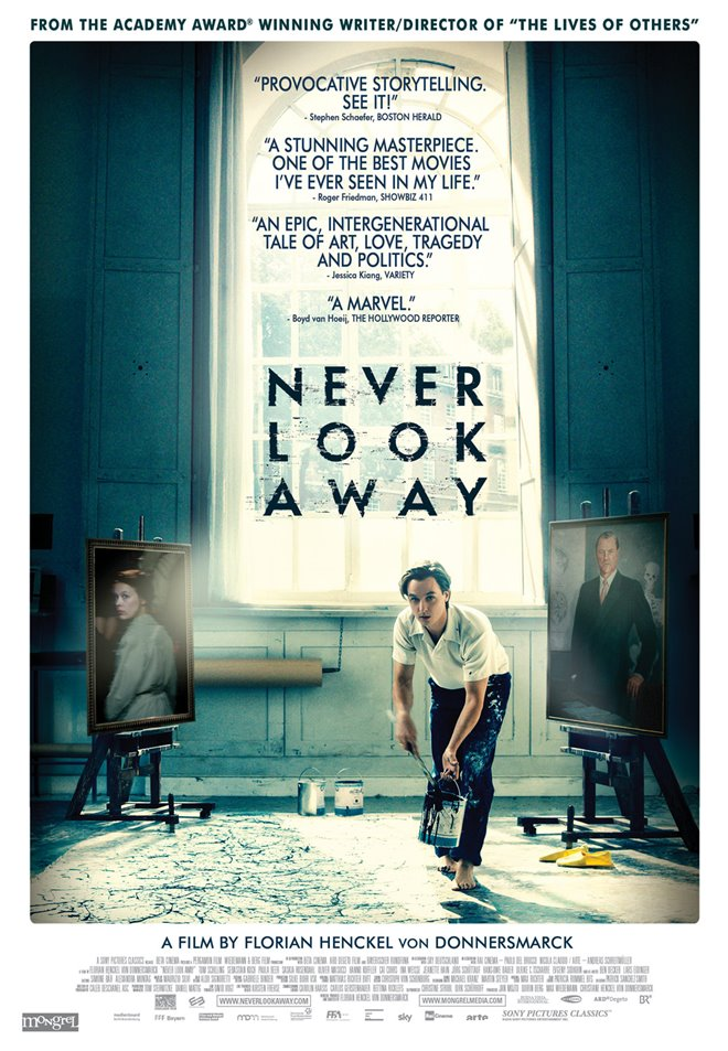 Never Look Away Large Poster