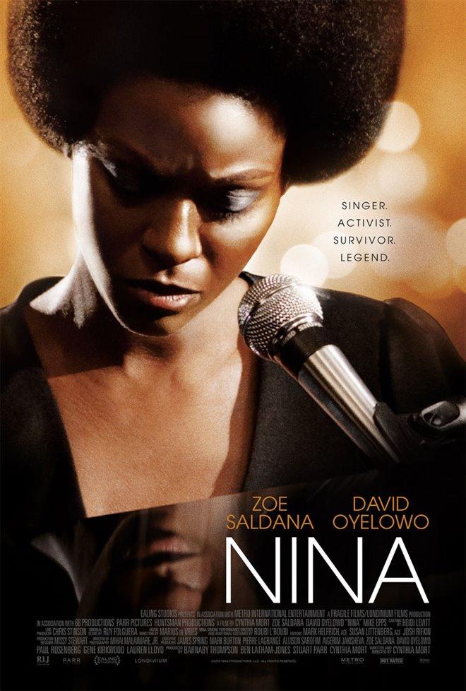 Nina Large Poster
