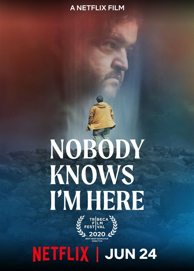 Nobody Knows I'm Here (Netflix) movie large poster.