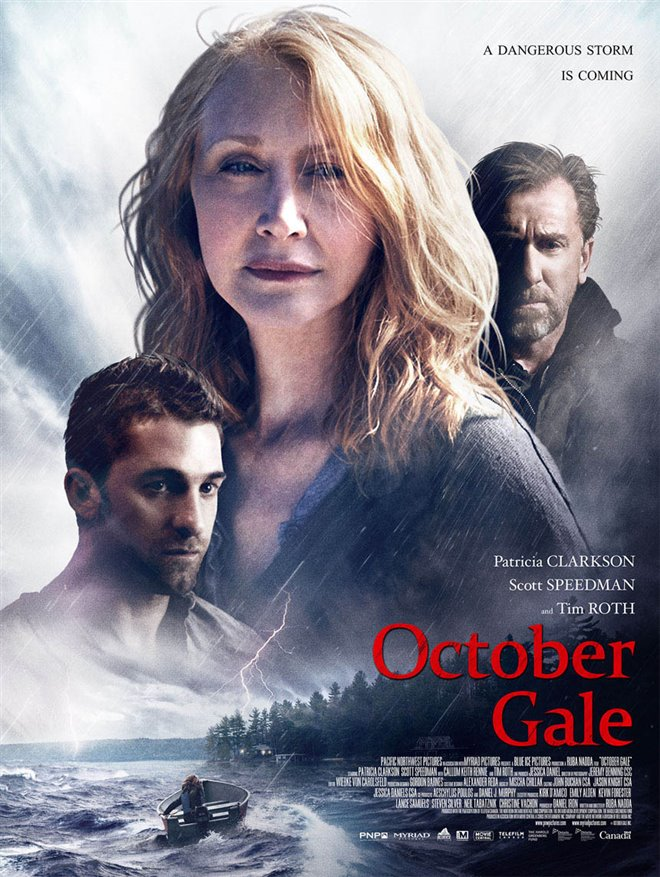 October Gale Large Poster