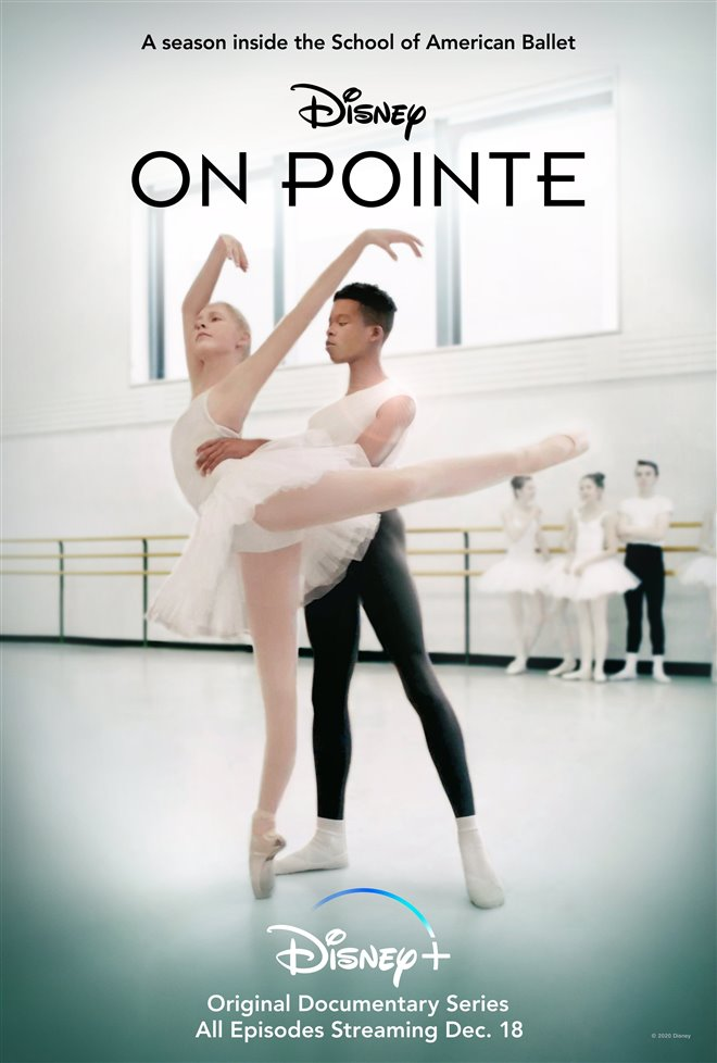 On Pointe (Disney+) Large Poster