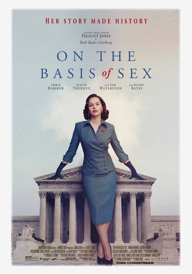 On the Basis of Sex Large Poster