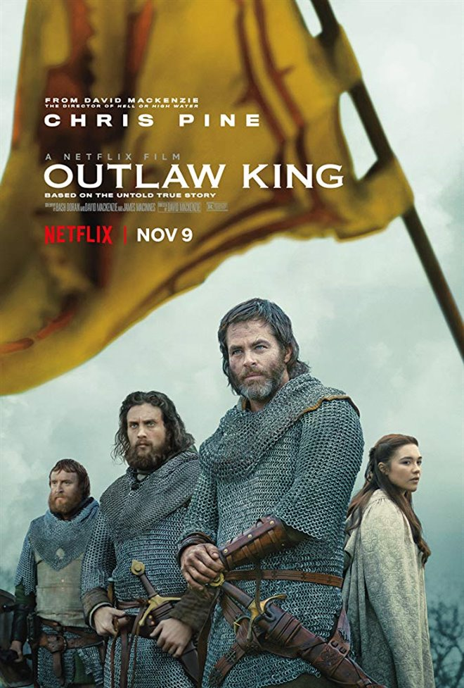 Outlaw King (Netflix) Large Poster