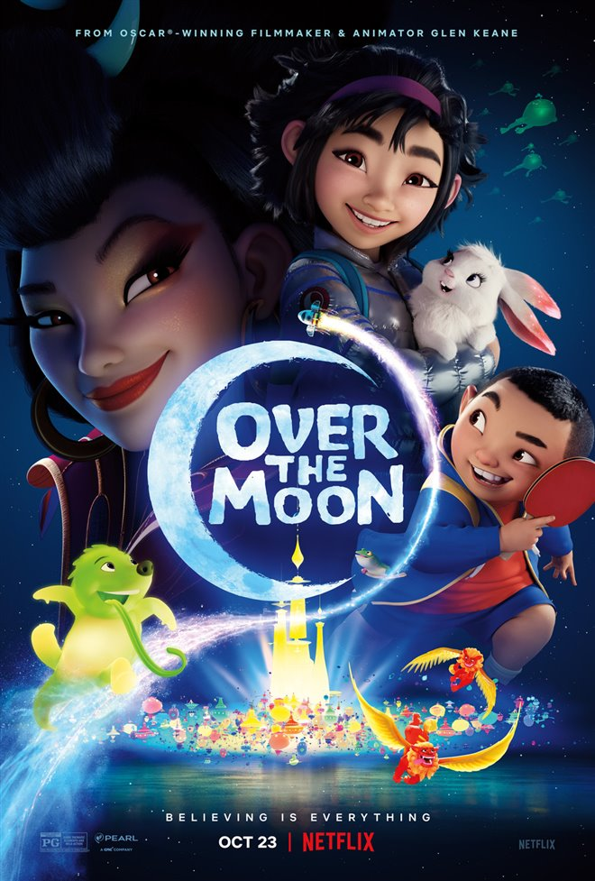 Over the Moon Large Poster
