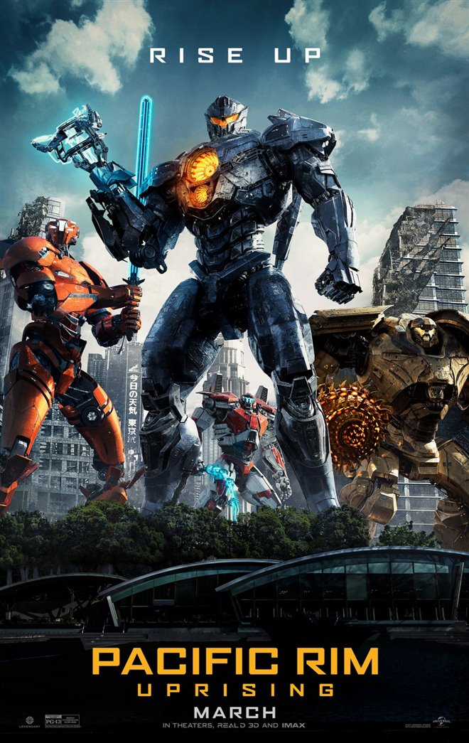 Pacific Rim Uprising Large Poster