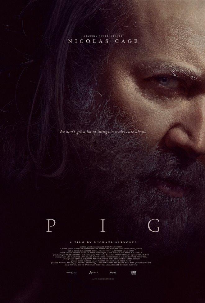 Pig Large Poster