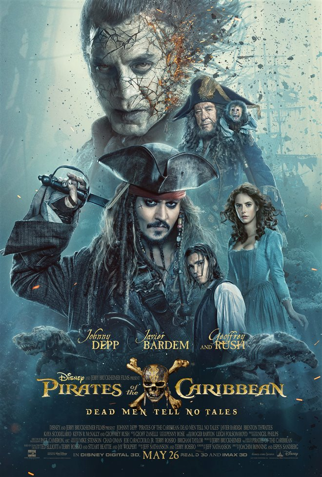 Pirates of the Caribbean: Dead Men Tell No Tales Large Poster