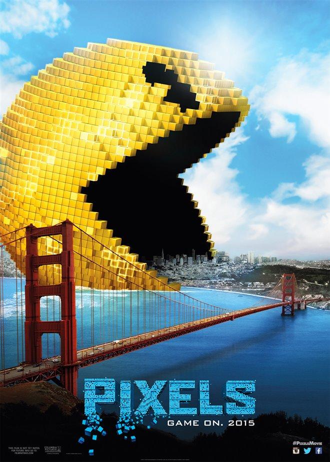 Pixels Large Poster