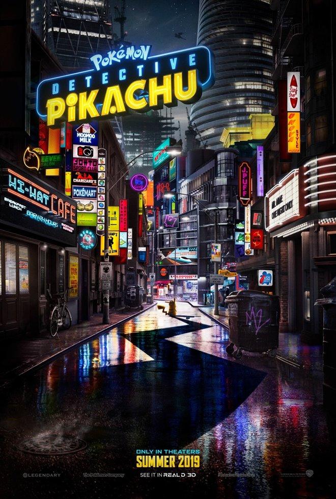 Pokémon Detective Pikachu Large Poster