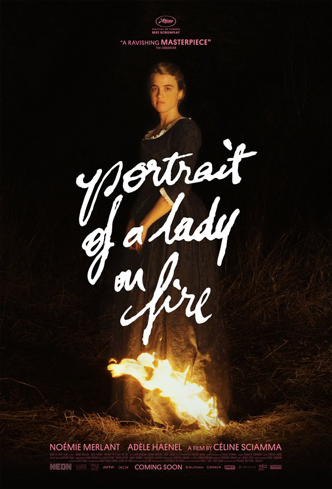 Portrait of a Lady on Fire Large Poster