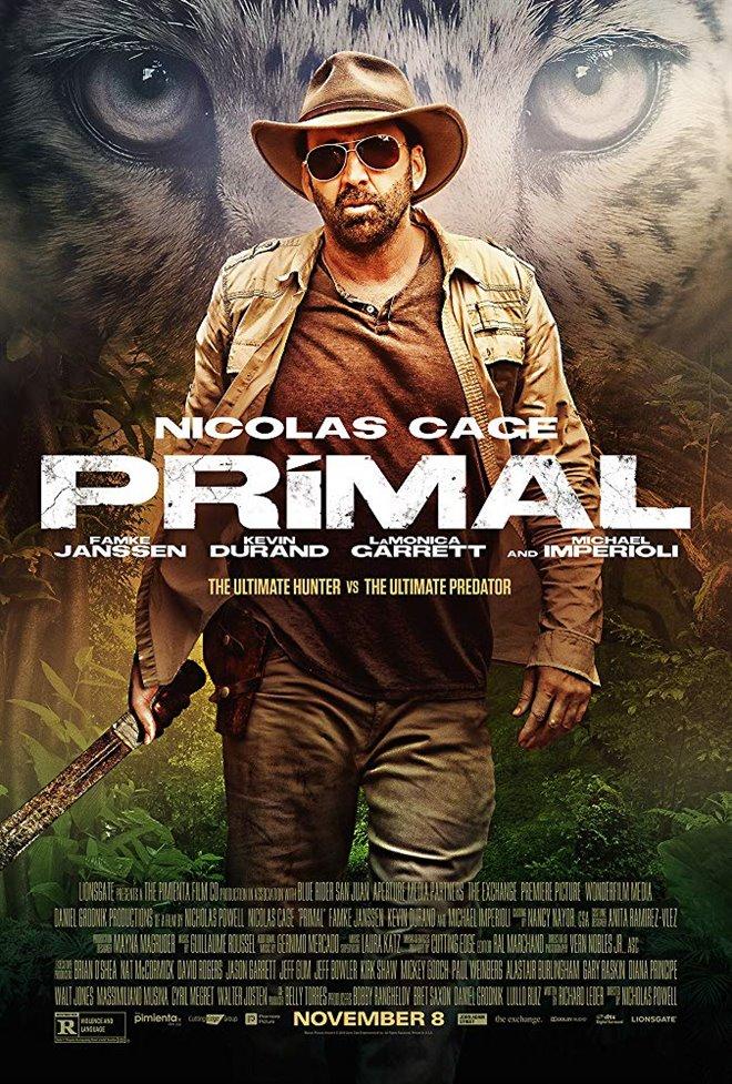 Primal Large Poster