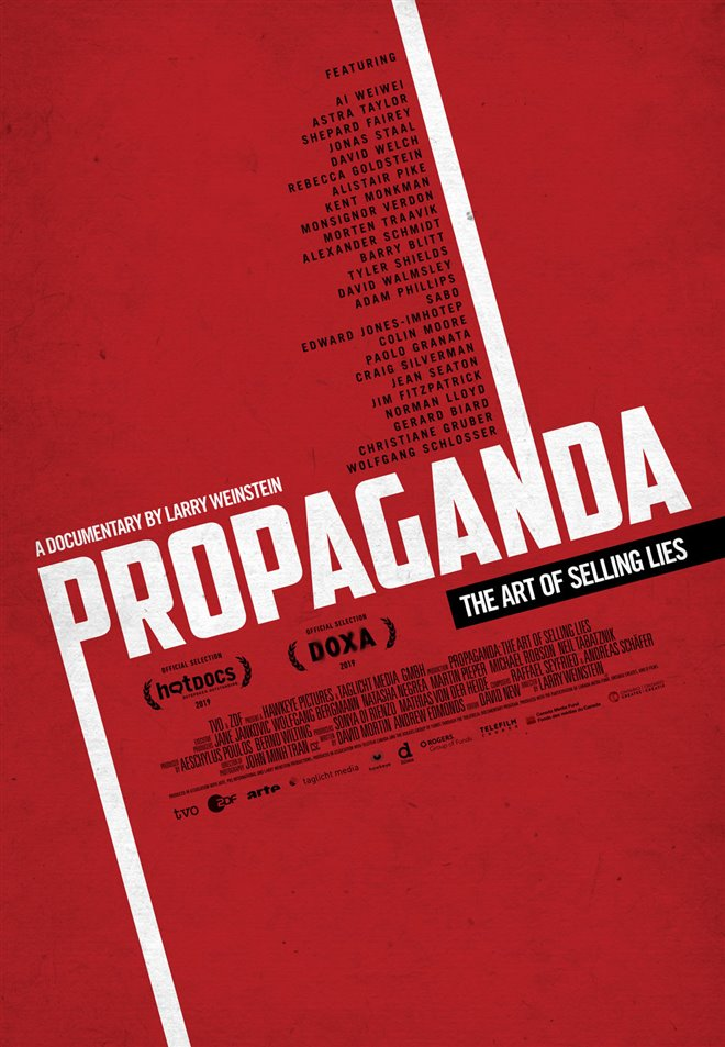 Propaganda: The Art of Selling Lies Large Poster
