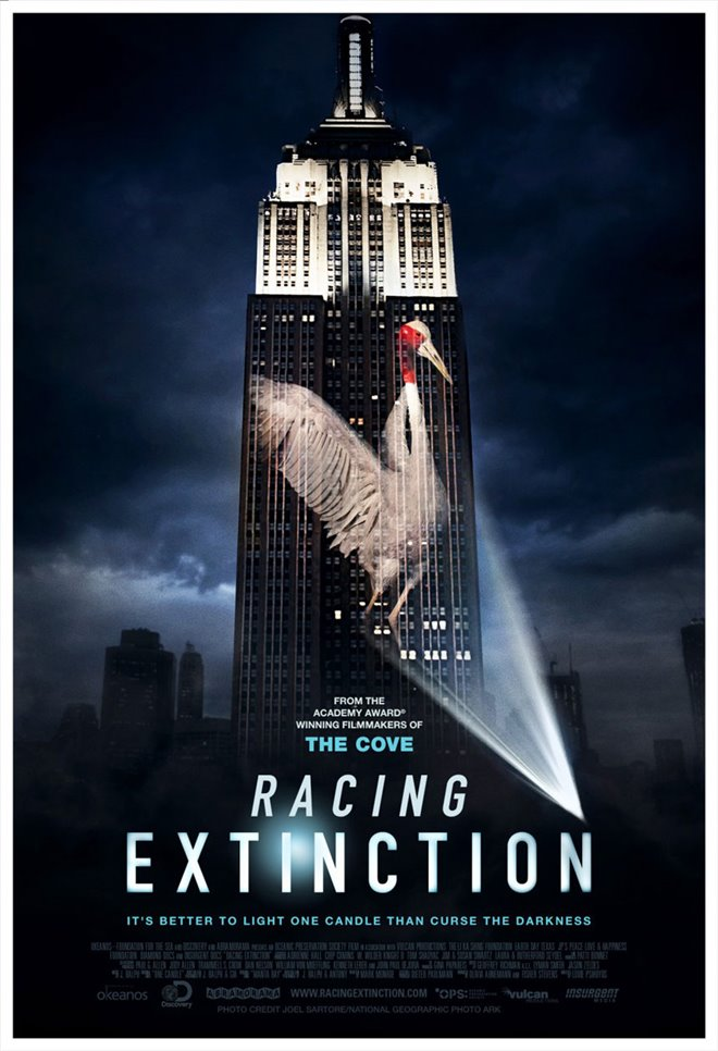 Racing Extinction Large Poster