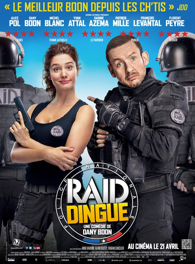 R.A.I.D. Special Unit Large Poster