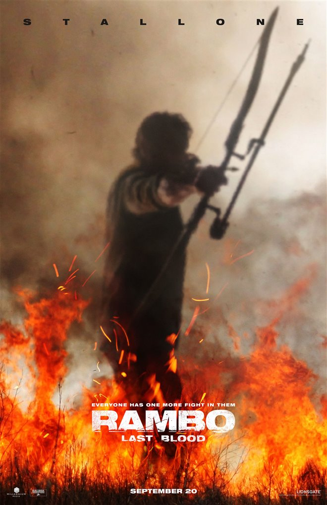 Rambo: Last Blood Large Poster