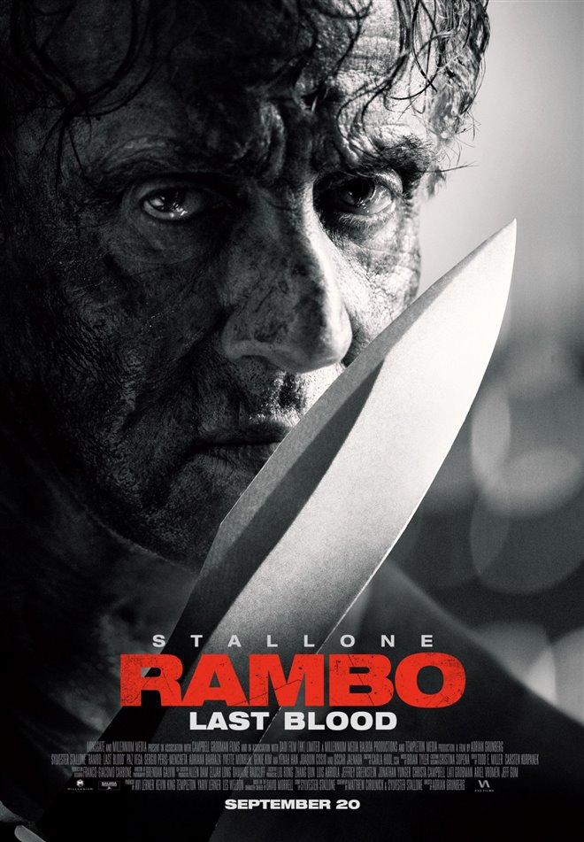 Rambo: Last Blood Large Poster