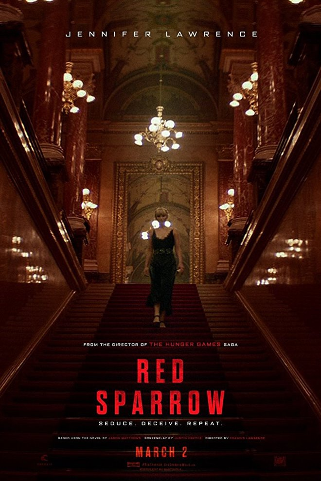 Red Sparrow Large Poster