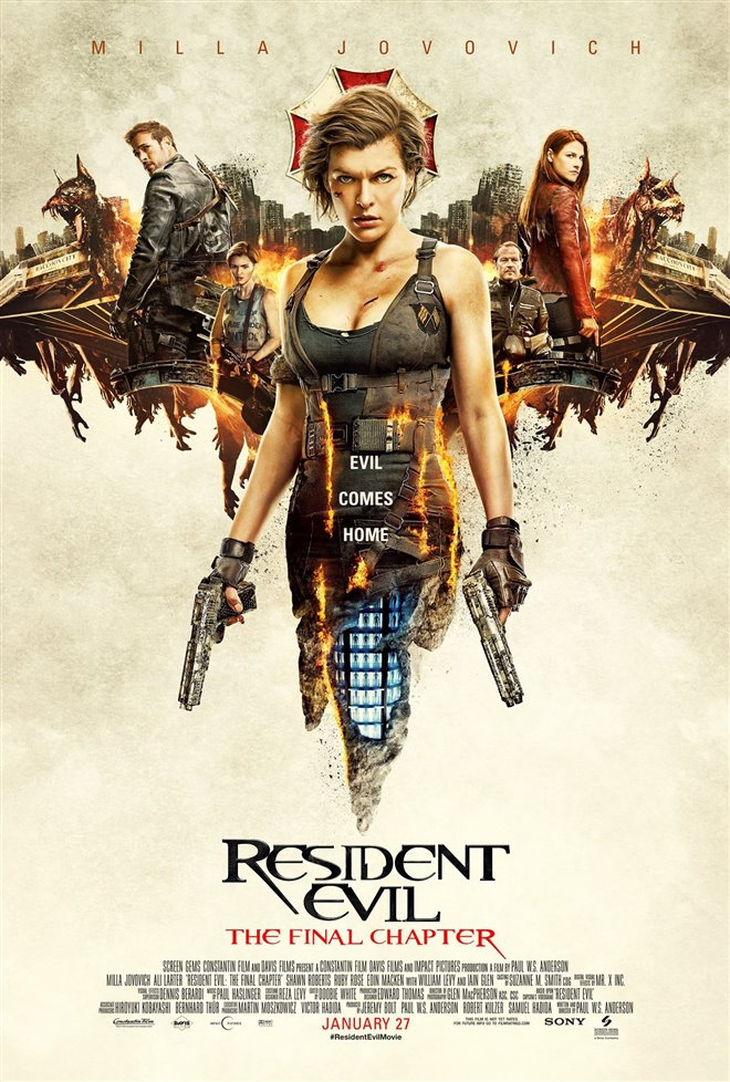 Resident Evil: The Final Chapter  Large Poster