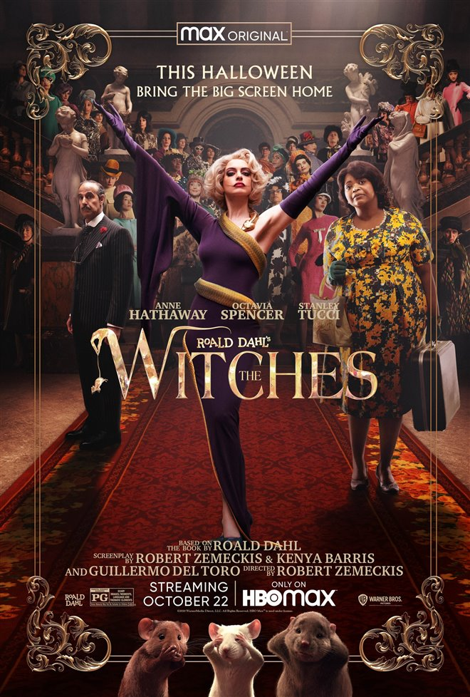 Roald Dahl's The Witches Large Poster