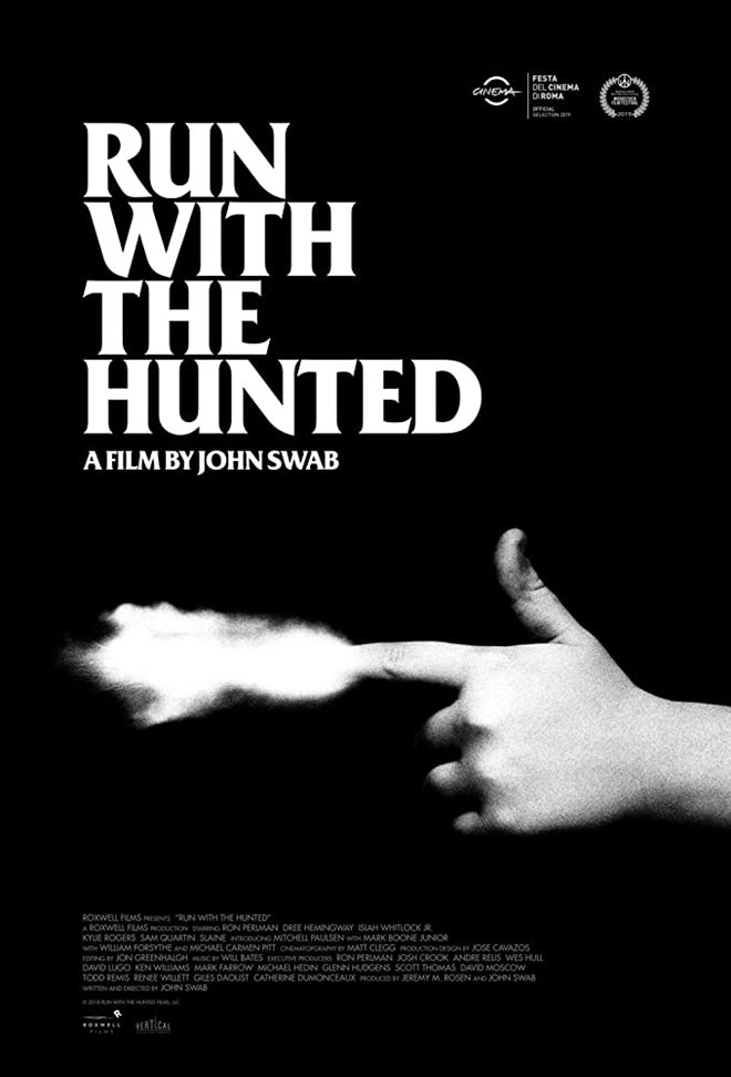 Run with the Hunted Large Poster