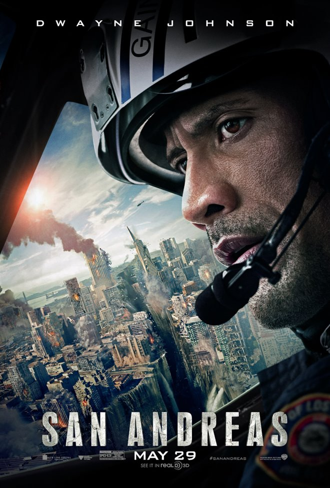 San Andreas Large Poster