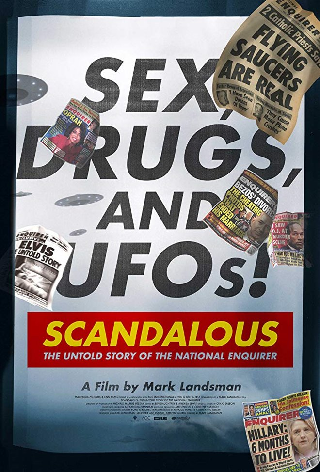 Scandalous: The Untold Story of the National Enquirer Large Poster