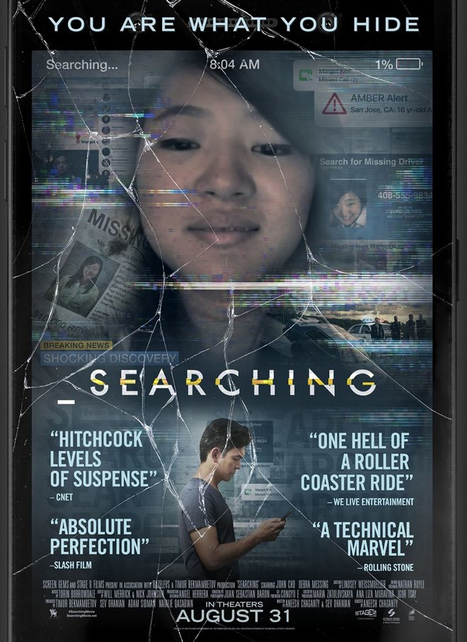 Image result for searching movie poster