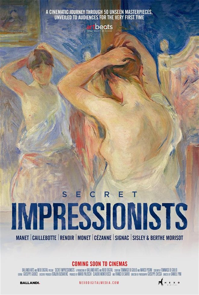 Secret Impressionists Large Poster