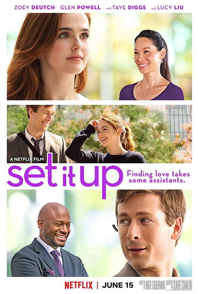 Image result for set it up netflix poster