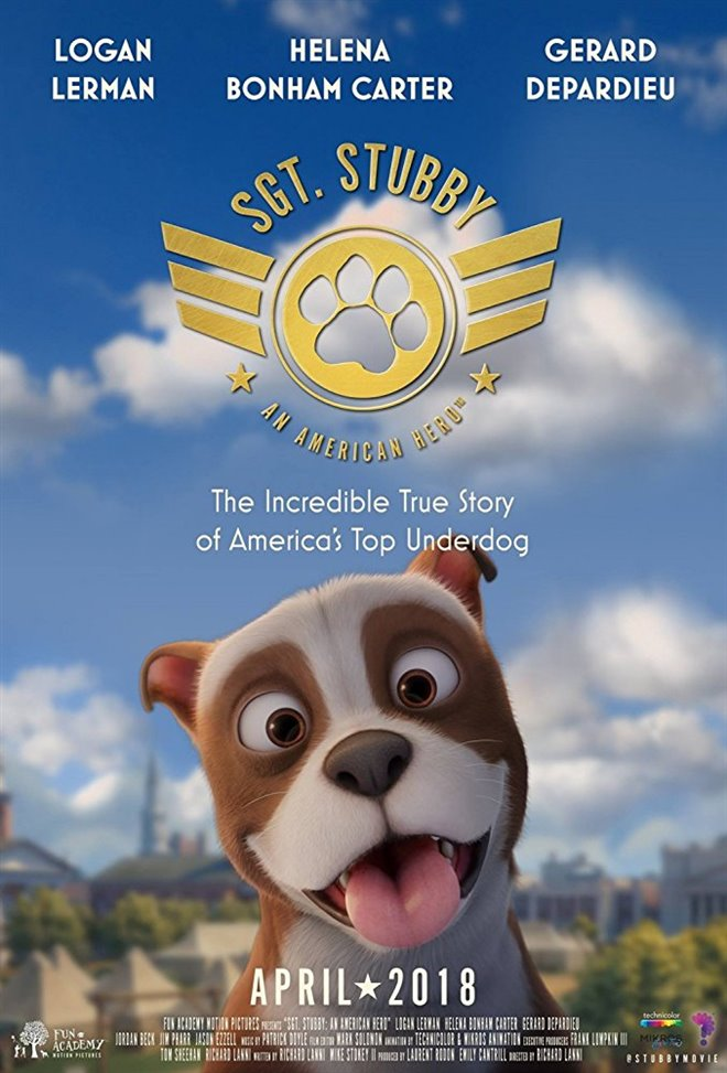 Sgt. Stubby: An American Hero Large Poster