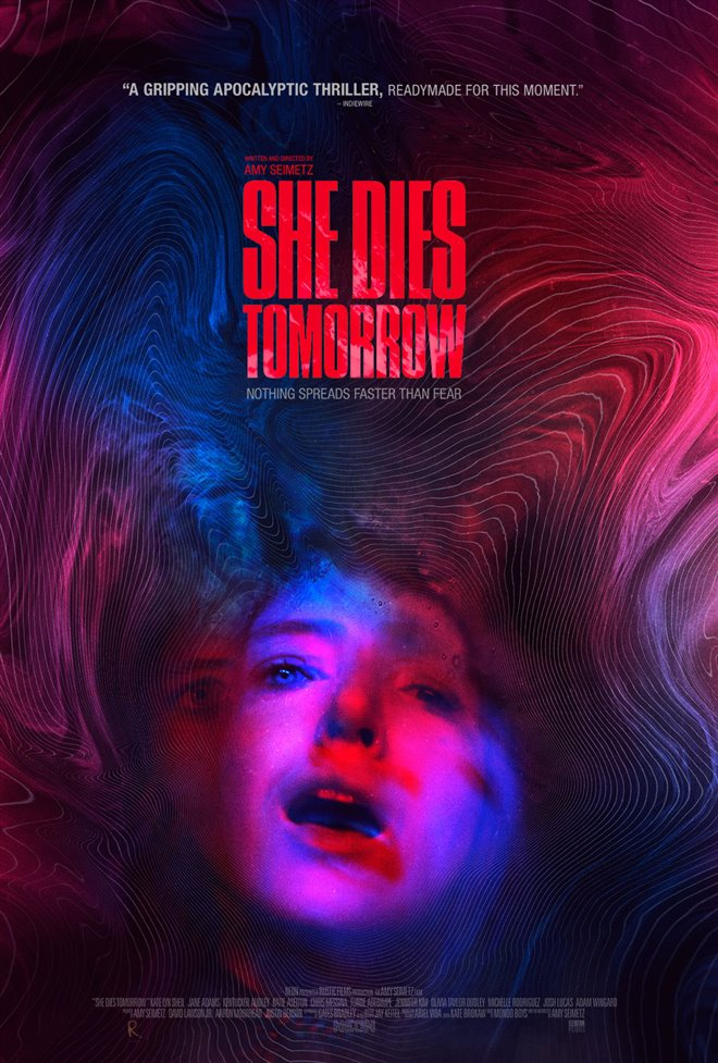 She Dies Tomorrow Large Poster