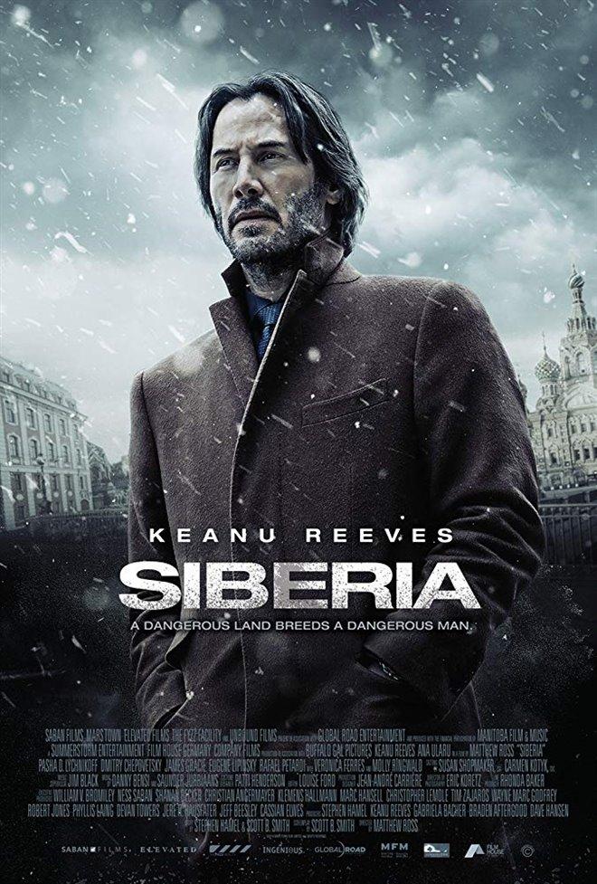 Siberia Large Poster