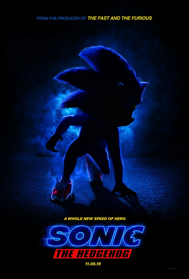 Sonic the Hedgehog Large Poster