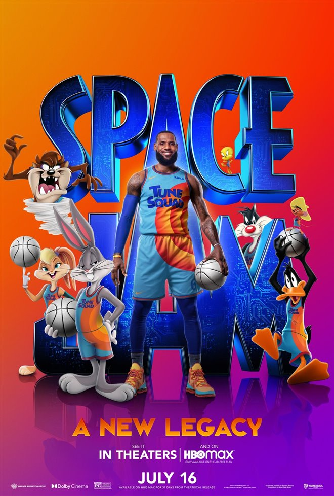 Space Jam: A New Legacy Large Poster