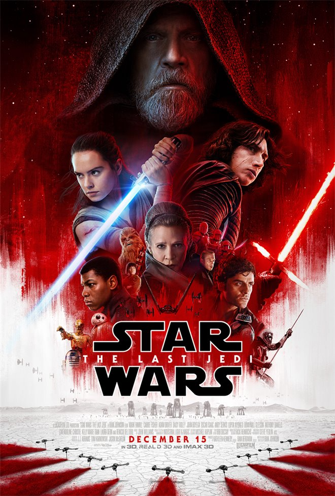 Star Wars: The Last Jedi Large Poster