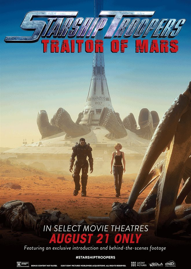Starship Troopers: Traitor of Mars Large Poster
