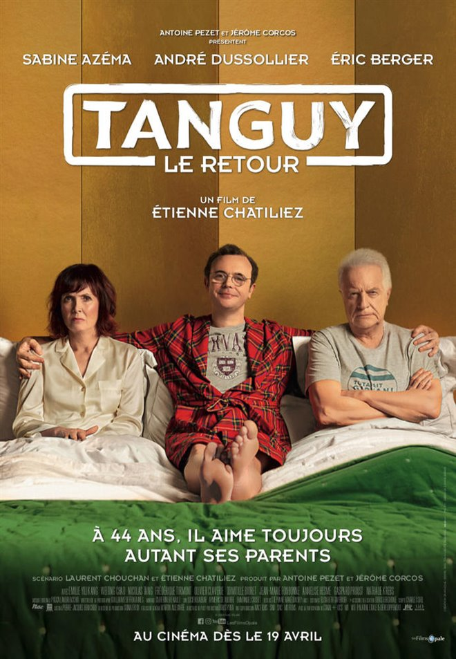 Tanguy is Back Large Poster