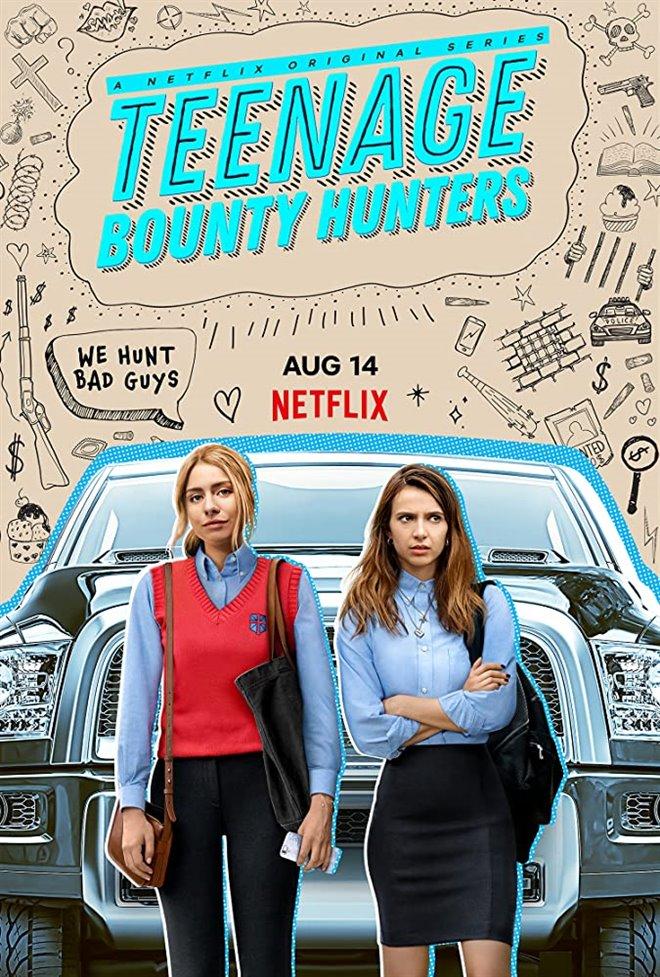 Teenage Bounty Hunters (Netflix) Large Poster