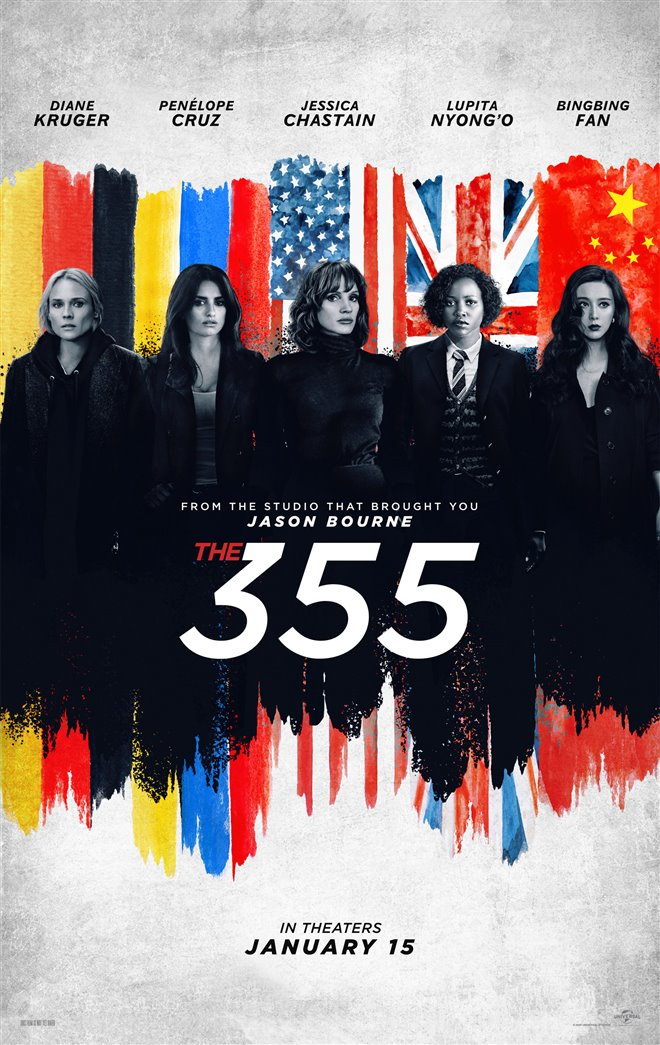 The 355 Large Poster