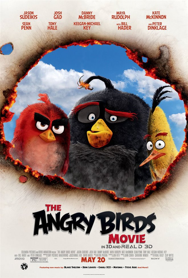 The Angry Birds Movie Large Poster