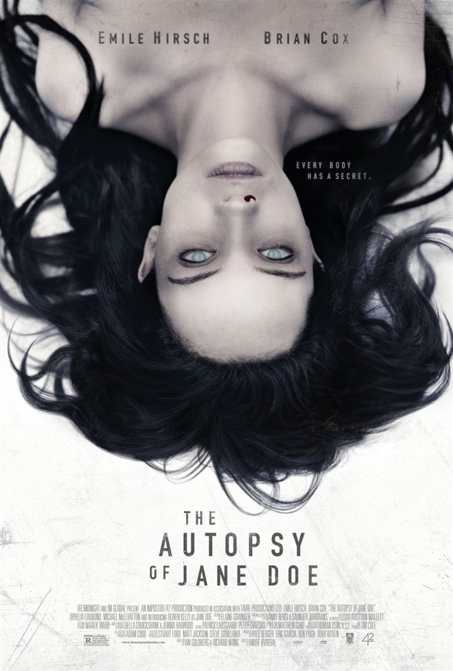 The Autopsy of Jane Doe Large Poster