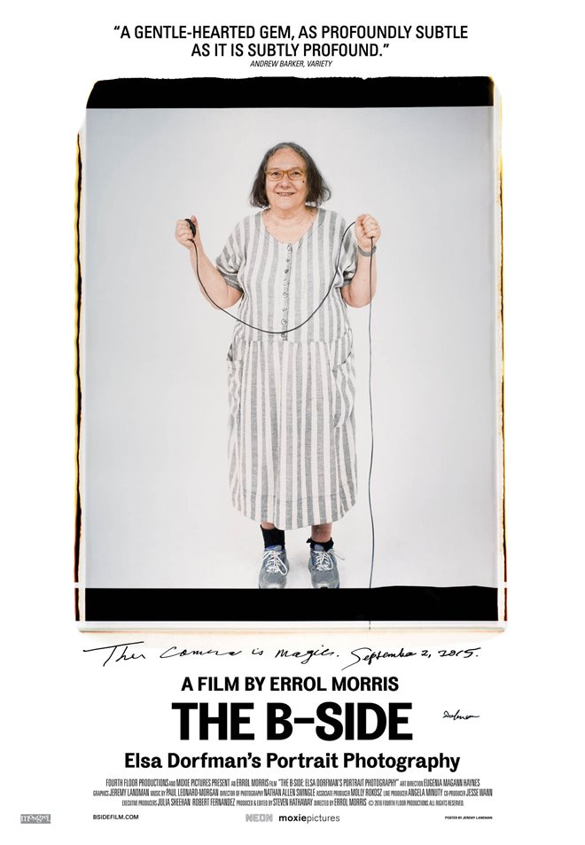 The B-Side: Elsa Dorfman's Portrait Photography Large Poster