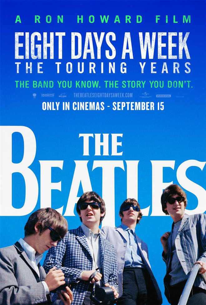 The Beatles: Eight Days a Week - The Touring Years Large Poster