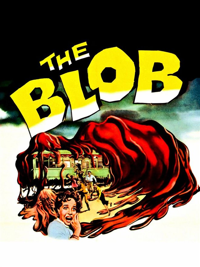 The Blob Large Poster