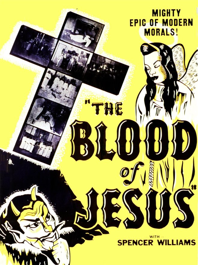 The Blood of Jesus Large Poster