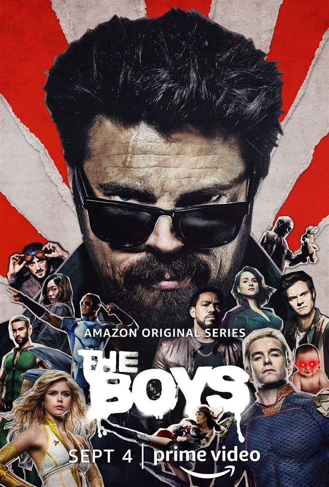 The Boys (Amazon Prime Video) Large Poster